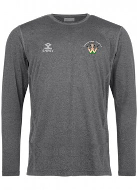 Shrey Elite Training Shirt L/S - Wistaston Village CC