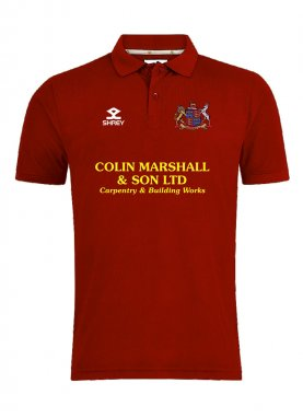 Shrey Performance Polo  Fakenham-CC Senior
