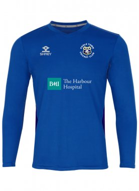 Shrey Performance T-20 Shirt L/S - Poole Town CC Junior
